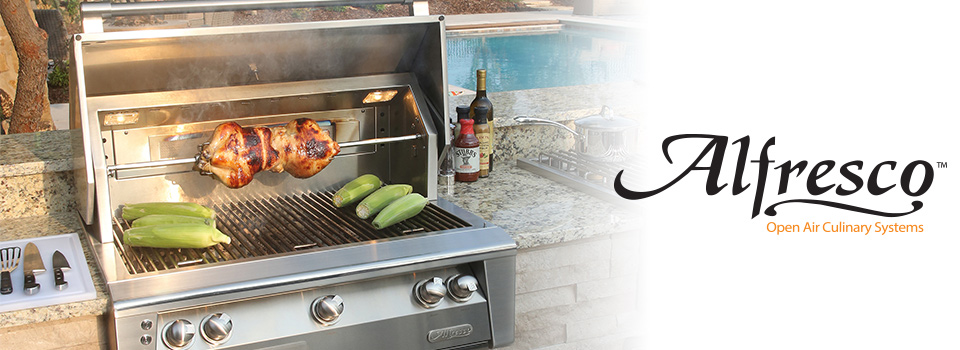 Alfresco Grills and Outdoor Cooking Products