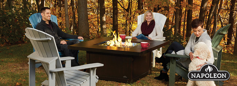 Napoleon Fire Pits and Fireplaces