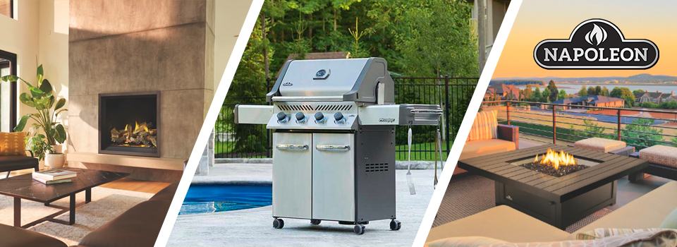 Napoleon Fire Pits, Fireplaces, Grills & Outdoor Cooking Products