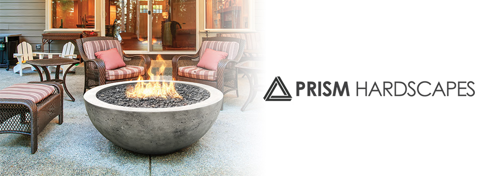 Prism Hardscapes Fire Pits and Fireplace Products