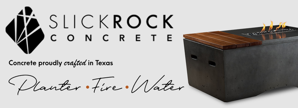 Slick Rock Concrete Fire Pits and Fire Tables