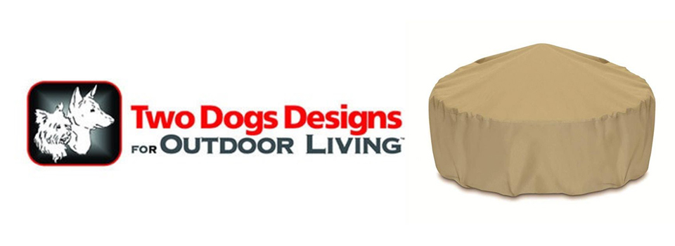 2 Dogs Designs Fire Pit Covers