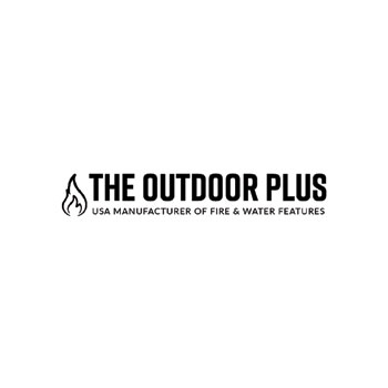 The Outdoor Plus Fire Pits, Fireplaces, and Patio Products Logo