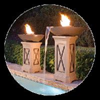 Pedestal Fire Pits