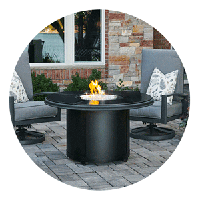 Round Fire Pit Tables