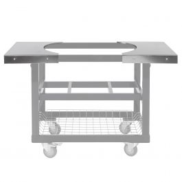 Primo 2 Stainless Steel Side Tables For Oval Lg 300 Cart