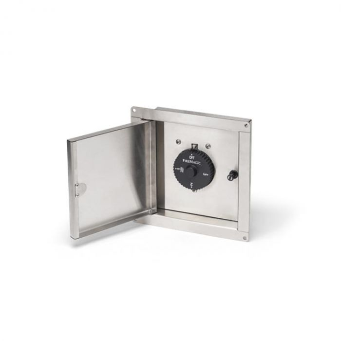 Fire Magic 5520-13T Gas Connection Box with Quick Disconnect and 3-Hour Timer