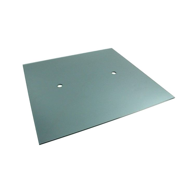 The Outdoor GreatRoom Company 16-GGC Glass Burner Cover for WP-1616 Burner, Grey, 16x16-Inches