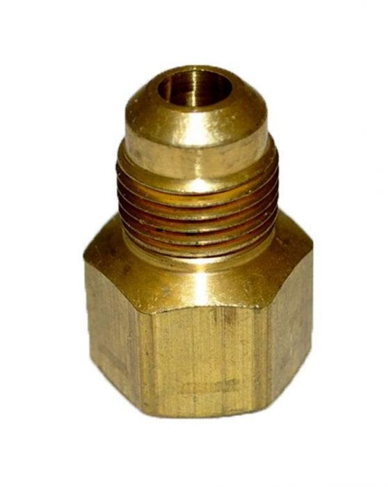 HPC Adaptor Brass Fitting, 3/8-Inch Tube, 1/2-Inch FIP