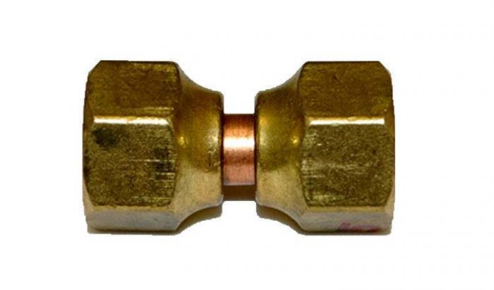HPC Brass 1.5-Inch Swivel Connector, 3.8-Inch Flare Fittings