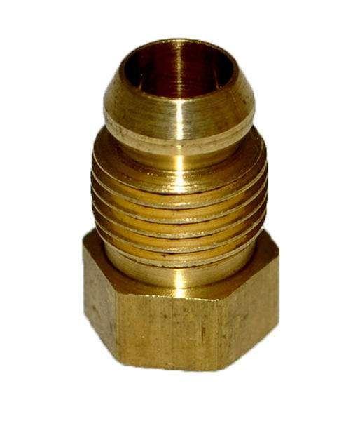 HPC Brass Male Breakaway Ferrule, 1/4-Inch
