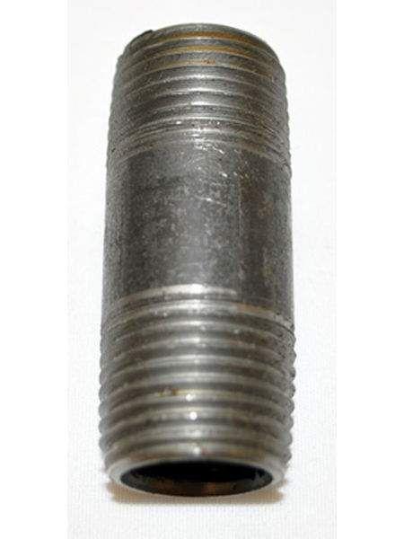 HPC Black Iron 1.5-Inch Nipple, 1/2-Inch MPT