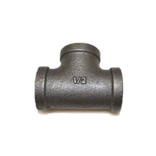 HPC Black Iron Tee, 1/2-Inch FIP