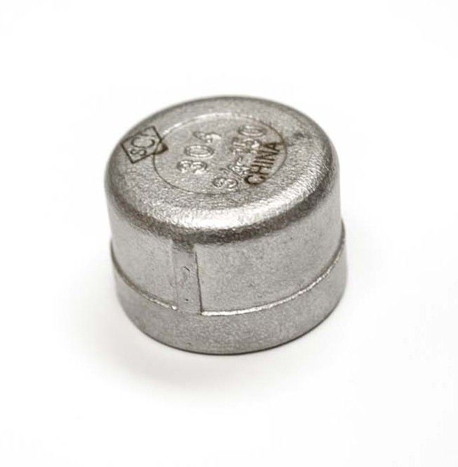 Hearth Products Controls 702 Stainless Steel Gas Line Cap, 3/4-Inch