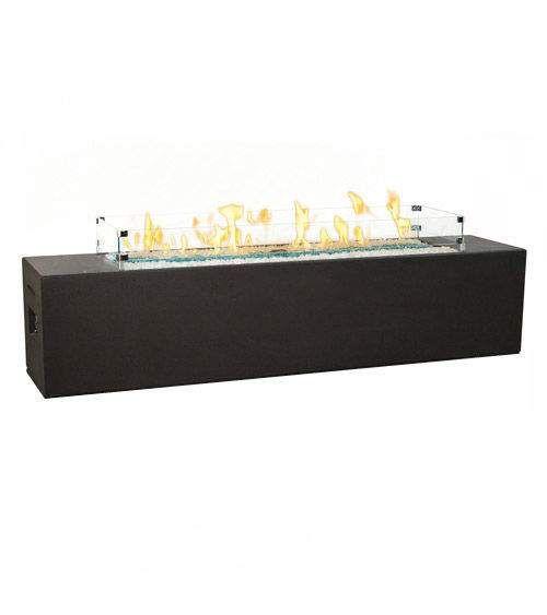 American Fyre Designs Milan Low Linear Fire Table
