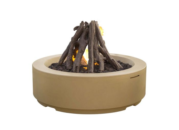 American Fyre Designs Louvre Round Fire Pit, 48-Inch