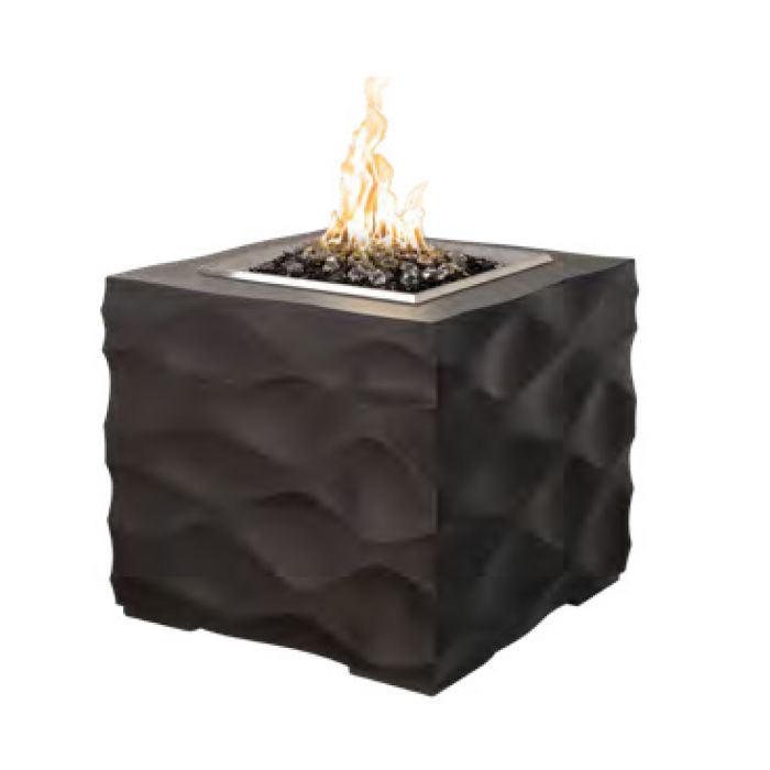 American Fyre Designs Voro Cube Fire Pit, 25.5-Inch