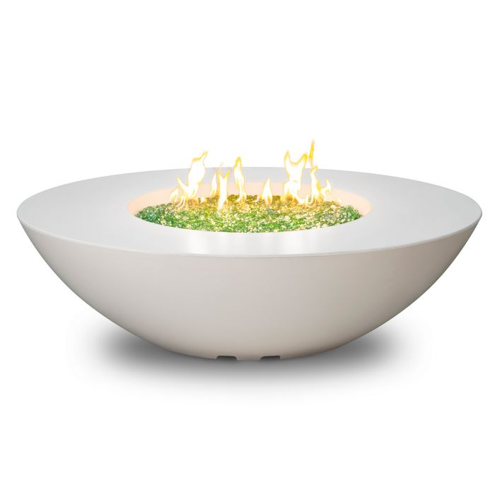 American Fyre Designs Calais Oval Chat Height Fire Table