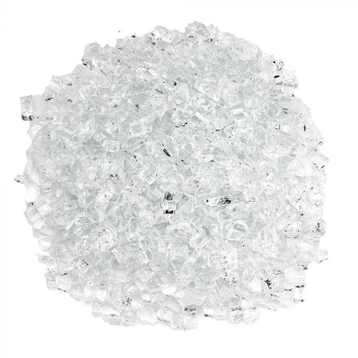 American Fireglass 10-Pound Classic Fire Glass, 1/4 Inch, Starfire