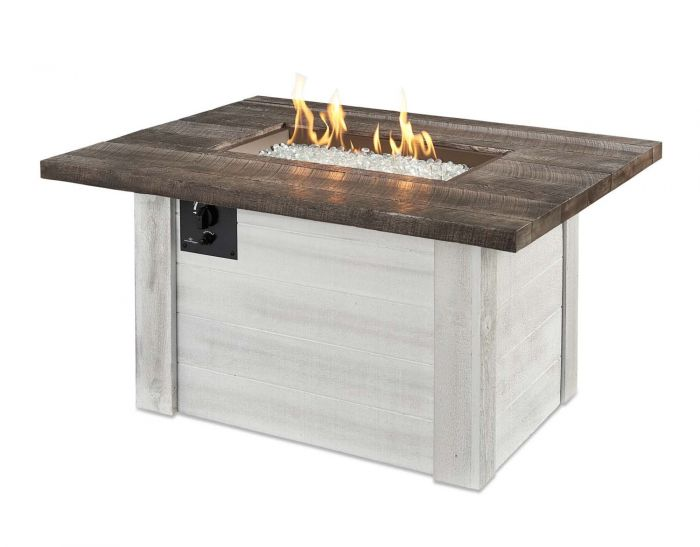 The Outdoor Greatroom Company Alc 1224 Alcott Gas Fire Pit Table 36 75x48 Inches