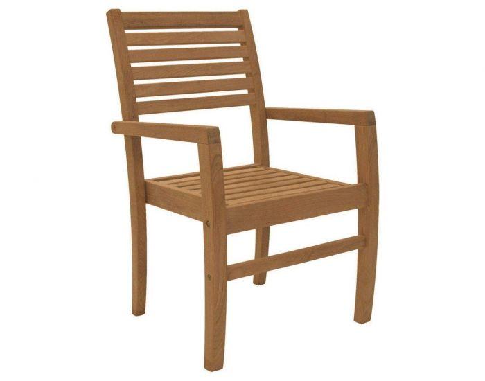 Royal Teak Collection AVTSC Avant Teak Stacking Chair