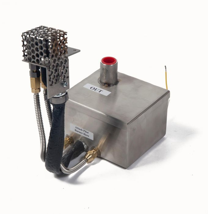Fire by Design MCG Mini AWEIS Electronic Gas Fire Pit Ignition System with Commercial Grade Pilot