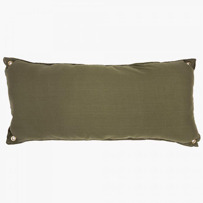 Hatteras Hammocks B-LEAF Traditional Hammock Pillow, Leaf Green