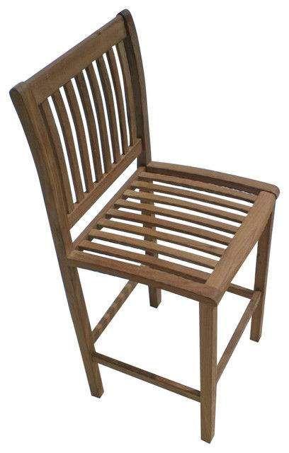 Royal Teak Collection BARC Classic Bar Chair