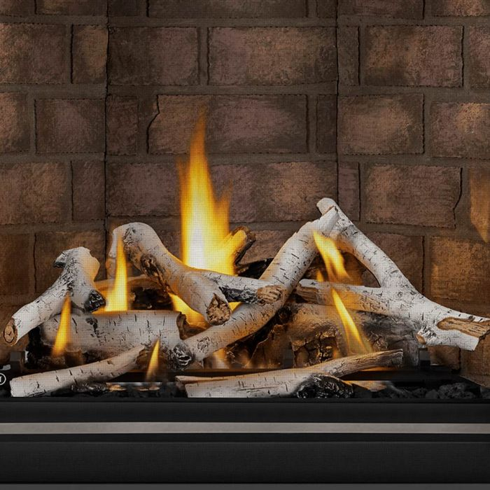 Napoleon BLKAX36 Birch Log Set for 36-Inch Altitude X Direct Vent Gas Fireplace