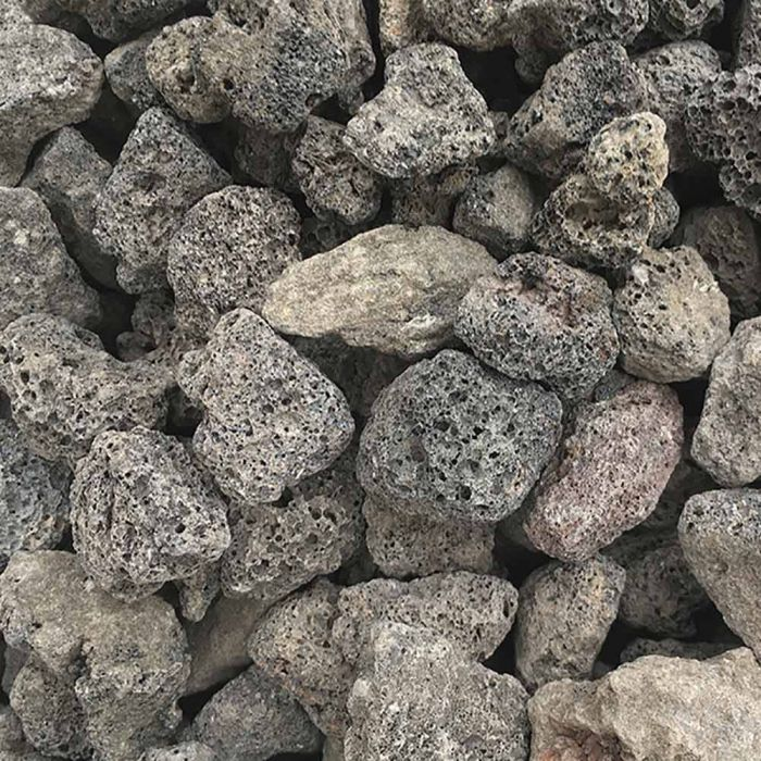 Warming Trends 30-Pounds of 1-1.5 Inch Lava Rock, Black
