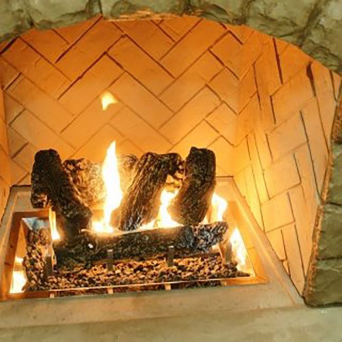 The Outdoor GreatRoom Company CF-1224-LOG-SET Outdoor Gas Fireplace Log set