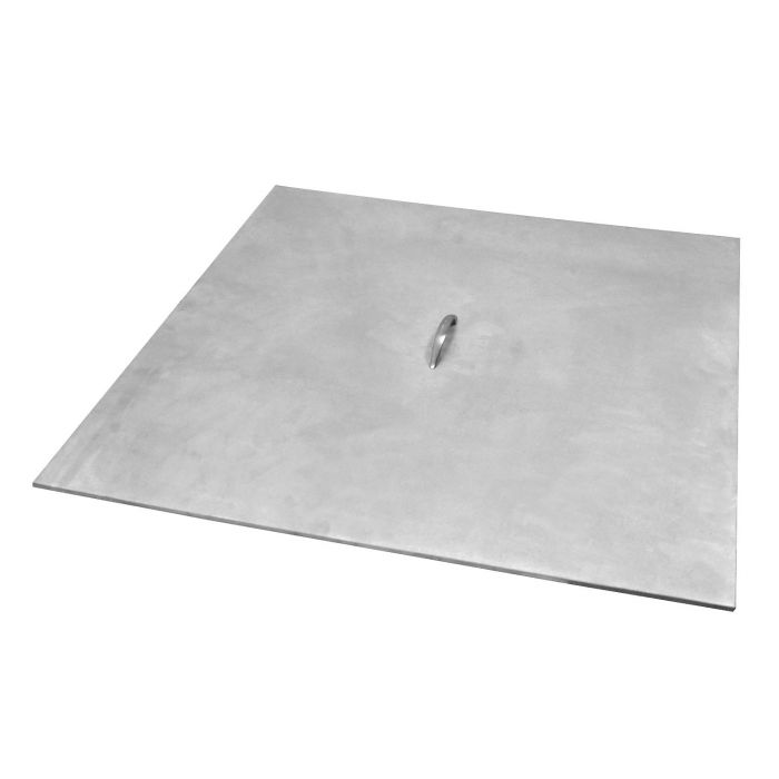 Warming Trends Aluminum Square Fire Pit Cover, 20-Inch