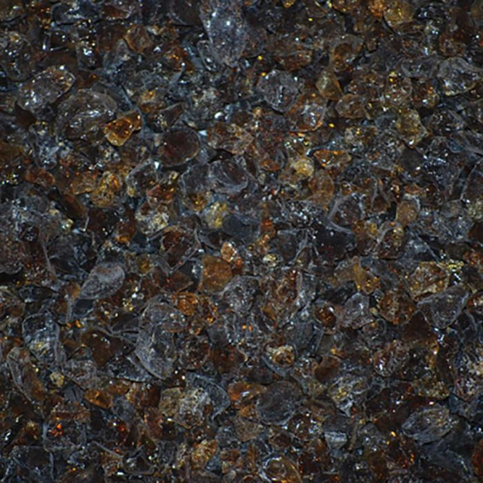 Warming Trends 1-Pound Recycled Fireglass, 3/4-Inch, CS Amber 9