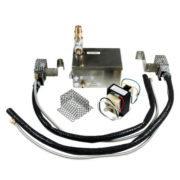 Fire by Design HCG2 High Capacity Dual-Pilot AWEIS Electronic Gas Fire Pit Ignition System