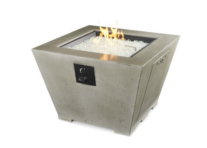 The Outdoor GreatRoom Company CV-2424 Cove Gas Fire Pit, 37.25x37.25-Inch