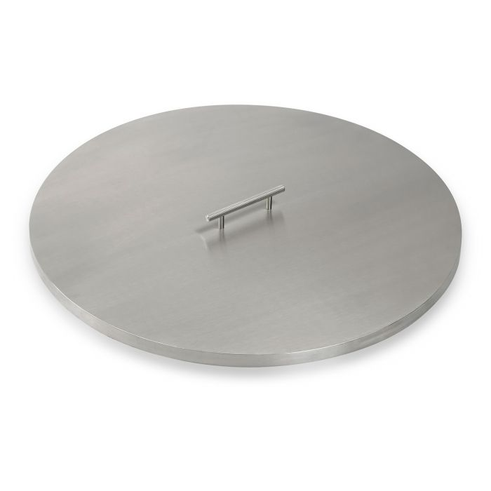 American Fireglass Drop-In Pan Cover, Round, 25 Inch