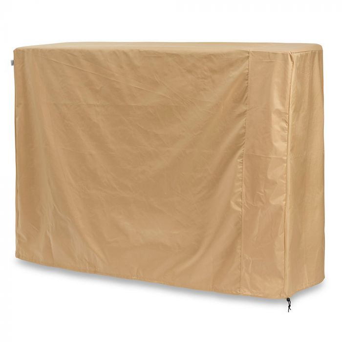 The Outdoor GreatRoom Company CVR6422 Tan Vinyl Cover for Stone Arch Fireplace, 64.75x24-Inches