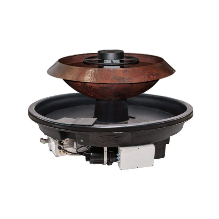 HPC H2Onfire Fire and Water Insert, Copper Bowl