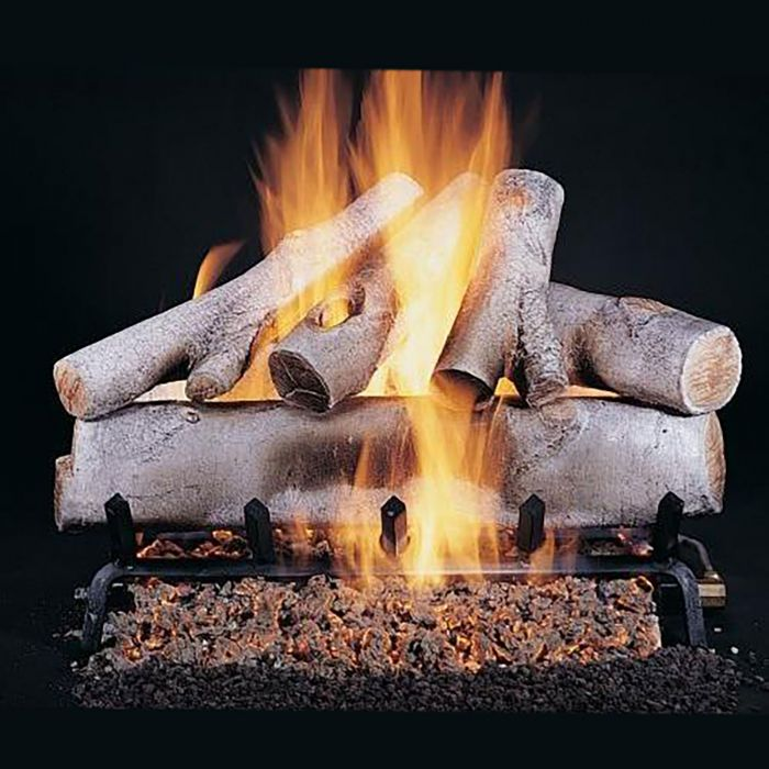 Rasmussen DF-WB White Birch Double Sided Gas Logs Only
