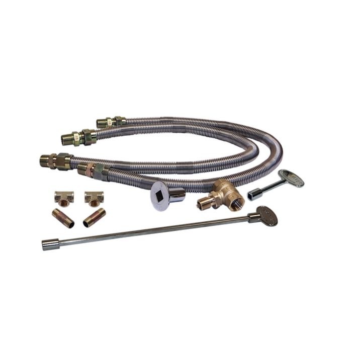 Warming Trends DFLKV34FIT300 Dual Flex Line and Key Valve Kit with FIT300 Kit
