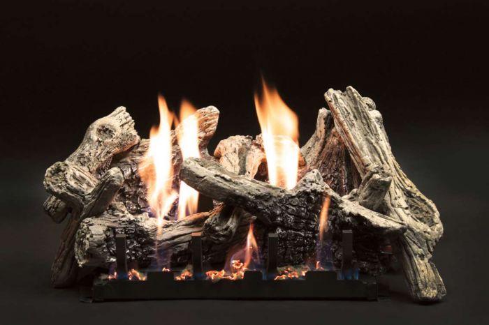 White Mountain Hearth LSxxCD Burncrete Driftwood Gas Logs Only