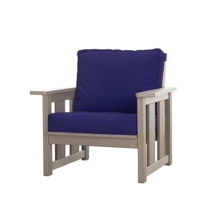 Pawleys Island DSCLUBCHR Deep Seating Club Chair with Sunbrella Cushions