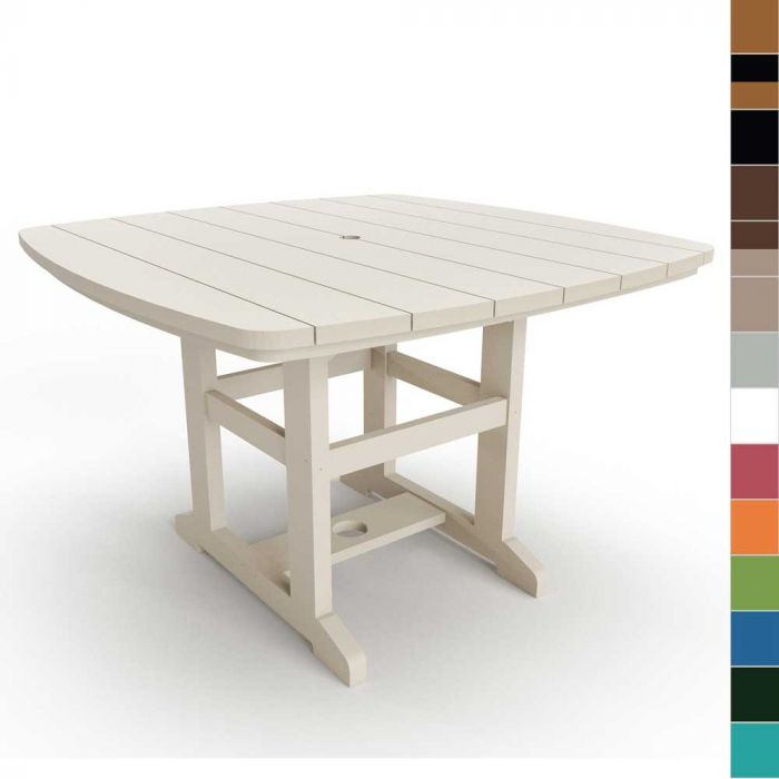 Pawleys Island DT72 Outdoor Dining Table, 46x72-Inch