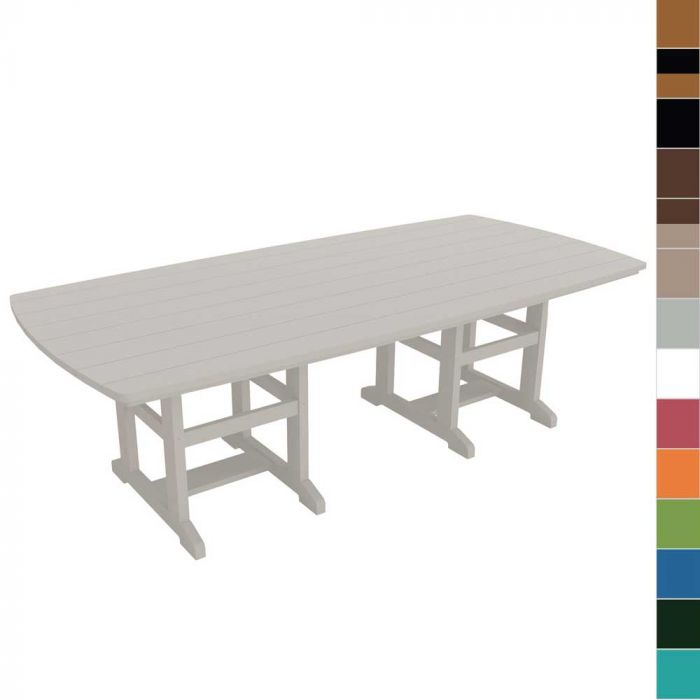 Pawleys Island DT96 Outdoor Dining Table, 46x96-Inch