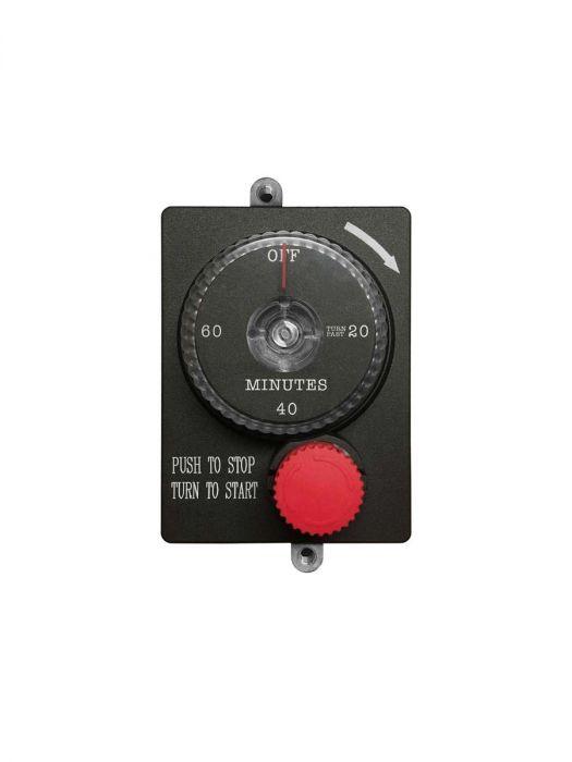 Firegear ESTOP1-0H Mechanical Timer with Emergency Shut-Off, 1-Hour