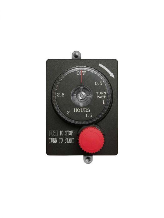 Firegear ESTOP2-5H Mechanical Timer with Emergency Shut-Off, 2.5-Hour