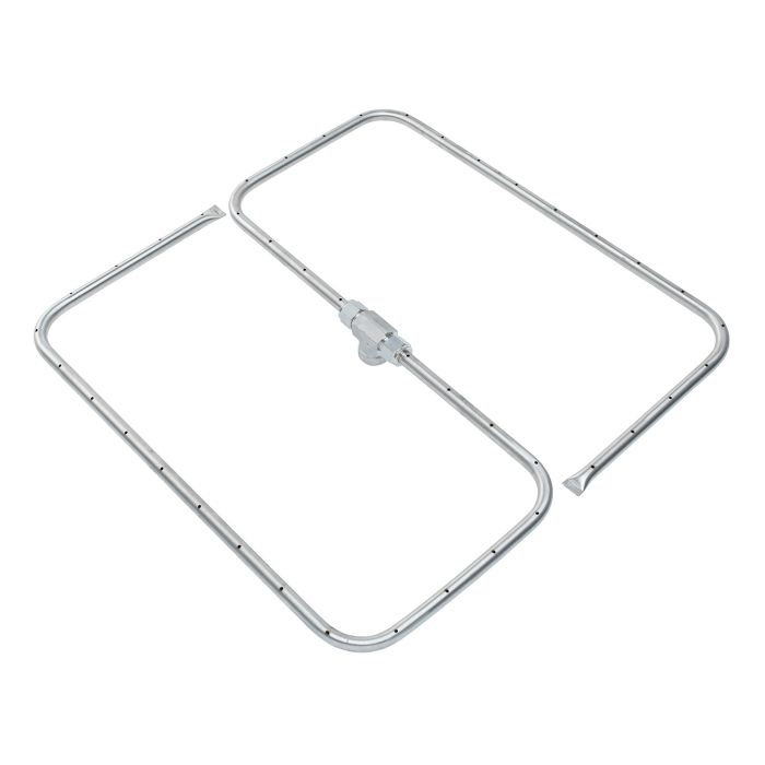 Fire by Design FBD-FRSSQ Square Stainless Steel Gas Fire Pit Burner