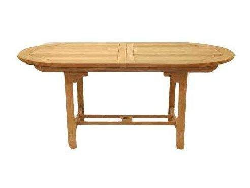 Royal Teak Collection FEO Oval Family Expansion Teak Table