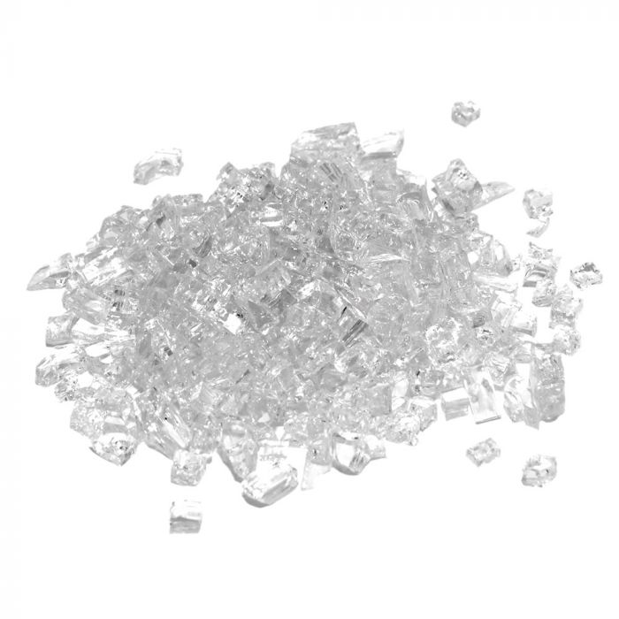 Real Fyre GL-10-C Clear Fire Glass, 10 Pounds