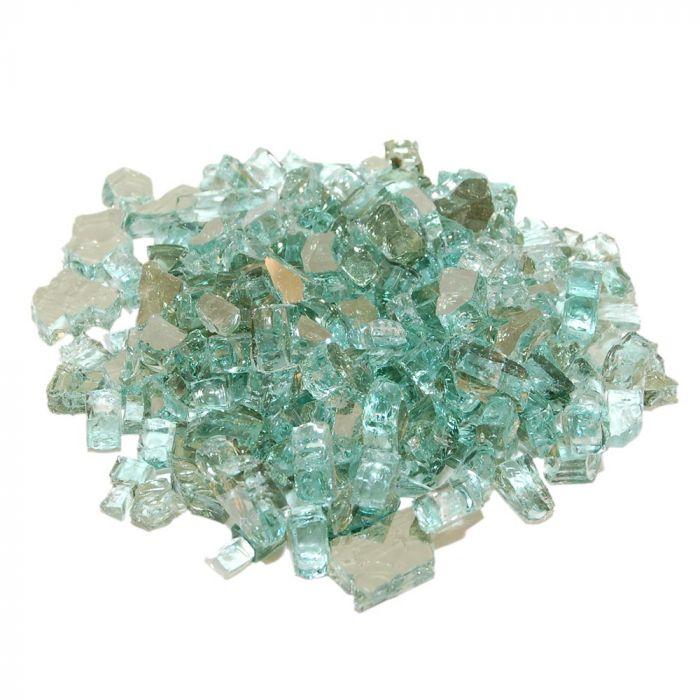 Real Fyre GL-10-ER Emerald Reflective Fire Glass, 10 Pounds